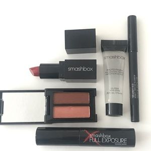 Smashbox Makeup Set Lipstick Primer Cover Shot